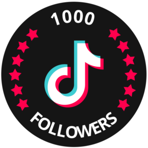 1000 tiktok followers