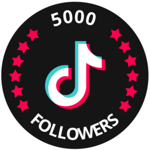 5000 followers tiktok